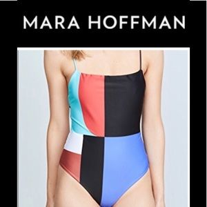 NWT Mara Hoffman One Piece Swimsuit Large